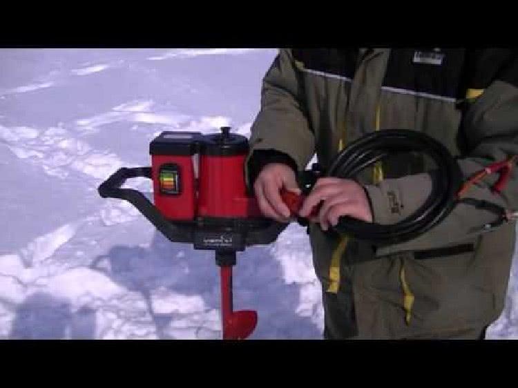 Электробуры для зимней рыбалке