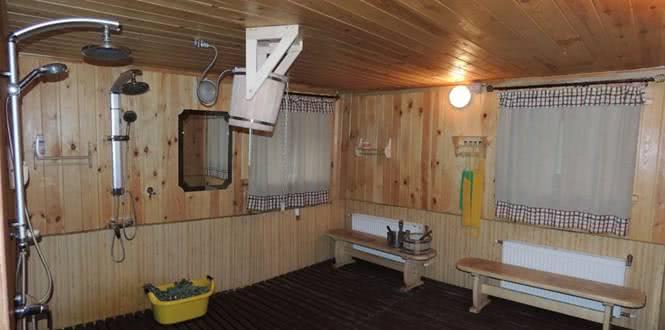 Отделка бани фото парилки и моечной