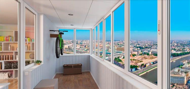 Как правильно застеклить балкон или лоджию.
