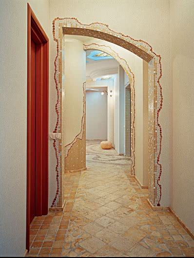 Как красиво оформить арку в квартире фото своими руками