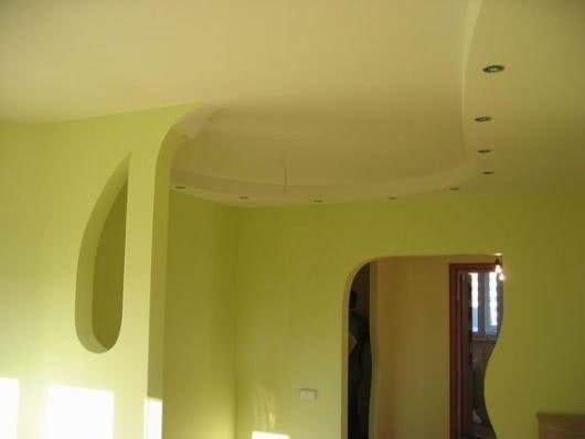 Потолки гипсокартона ремонт своими руками