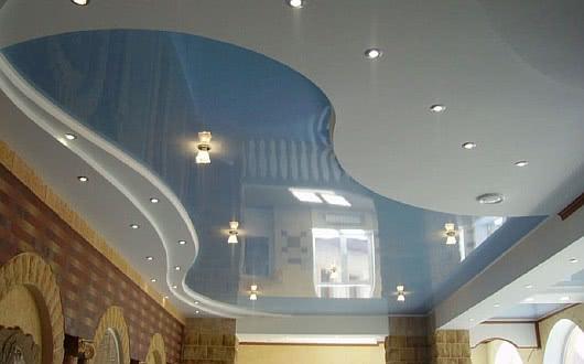 Подвесной потолок в ванне своими руками