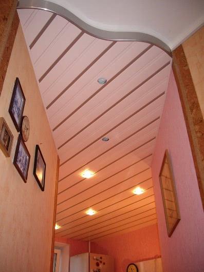 Фото подвесных потолков Фотографии реечных потолков Фотогалерея 1