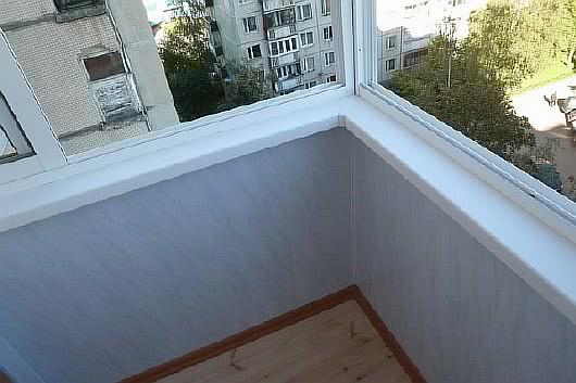 Фото лоджий с отделкой пвх панелями синего цвета балкон 1.