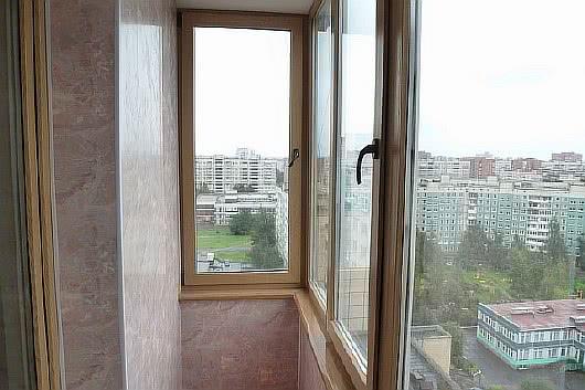 Фото балконов с отделкой пвх панелями с цветом под мрамор ба.