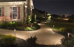Освещение в саду | Ландшафтный дизайн