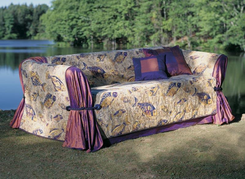 Чехлы на диваны и кресла своими руками фото
