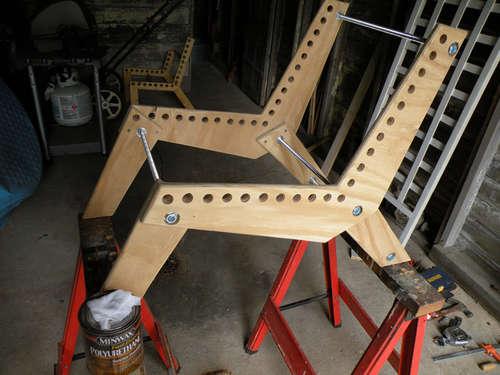 Кресло волна своими руками фото 600