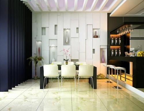 Корпусная мебель в стиле хай тек