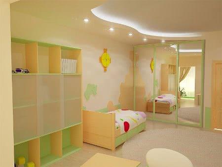 Дизайн детской комнаты для дошкольников