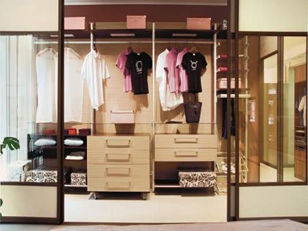 Интерьер и дизайн гардеробной