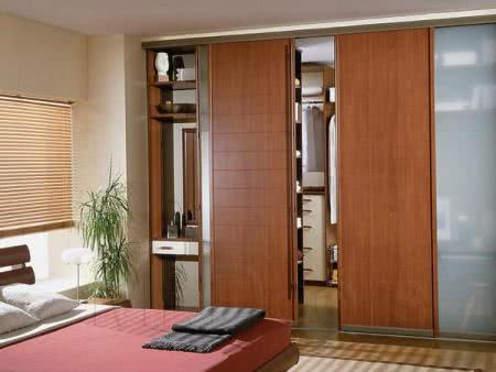 Дизайн спальни гардеробной
