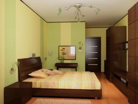 Декорация спальни