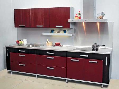 Однорядная кухня