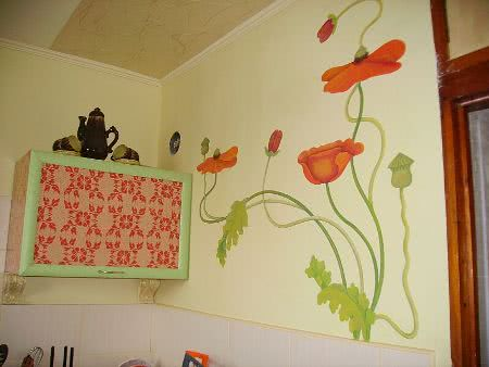 Картинки своими руками на стене