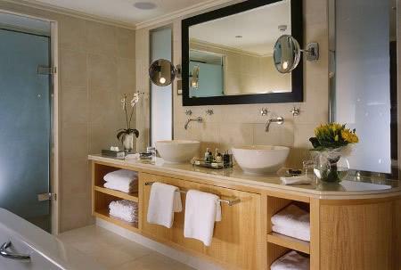 Дизайн ванной комнаты - Стиль кантри
