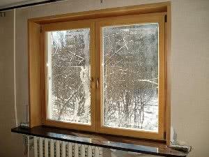 Деревянные окна из ясеня