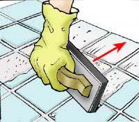 Можно ли дозатирать швы плитки спустя долгое время