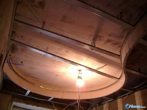 Двухуровневый реечный потолок своими руками видео
