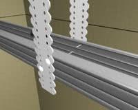 Монтаж потолка из гипсокартона (рис.11)