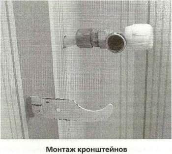 Монтаж алюминиевых радиаторов