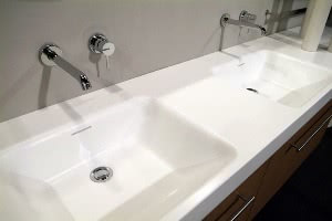 Кухонные мойки из искусственного камня для ванной Теплый пол Aura Technology MTA 900-6,0