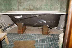 Ванная установка своими руками 167