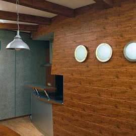 ...изготовлении стеновых панелей используются различные материалы: натуральное дерево, ДВП (древесноволокнистая плита)...