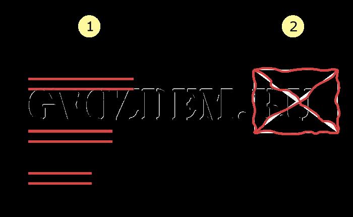Метод паутина для разметки прямоугольного фундамента