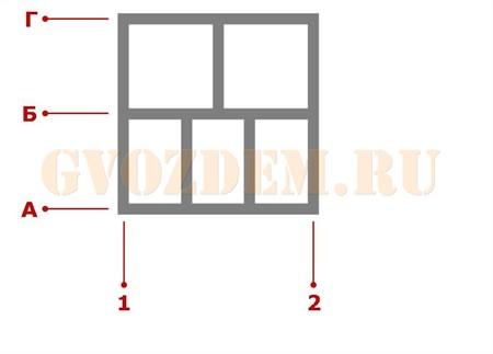 Ростверк. Схема 9