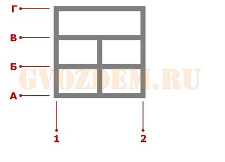 Ростверк. Схема 21