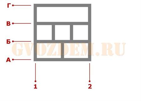 Ростверк. Схема 22
