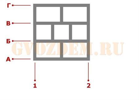 Ростверк. Схема 23