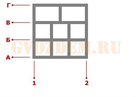 Ростверк. Схема 32