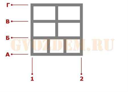 Ростверк. Схема 37
