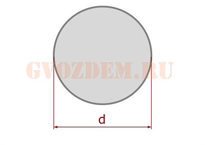 Столб - круглое сечение