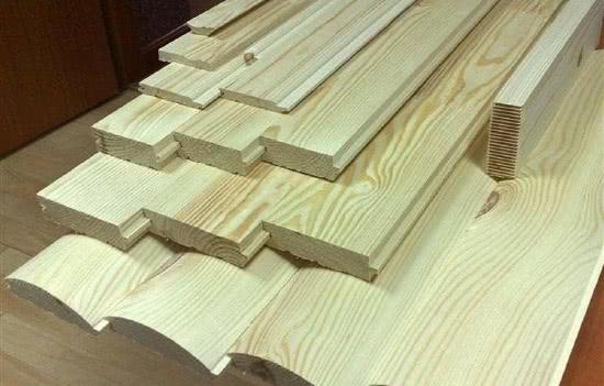 Древесина для мебели в бане