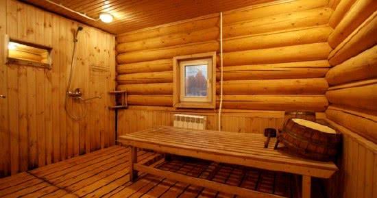 Как постелить пол в бане из досок