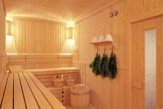 Внутреннее устройство бани