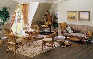 Плетеная дачная мебель