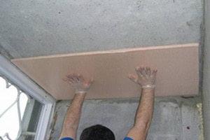 Утепление потолка своими руками