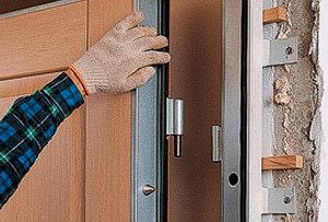 Утепление дверей частного дома