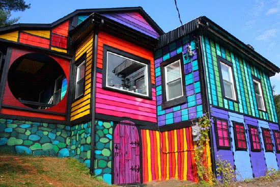 Варианты отделки фасадов домов кирпичом