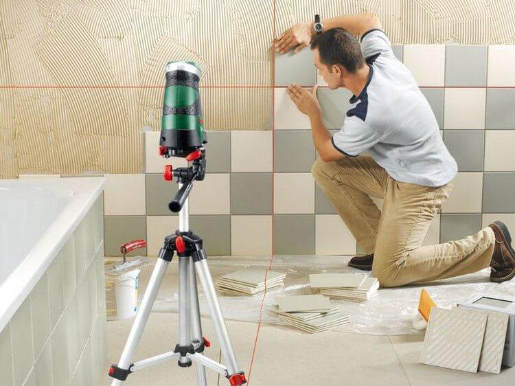 О подготовке стен для укладки плитки
