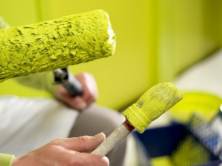 Правила выбора краски для стен
