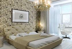 О выборе материалов для отделки стен в спальне