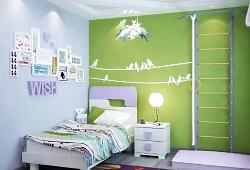 Об отделке стен в детской комнате