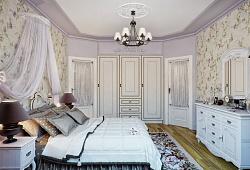 Об отделке потолка в спальне